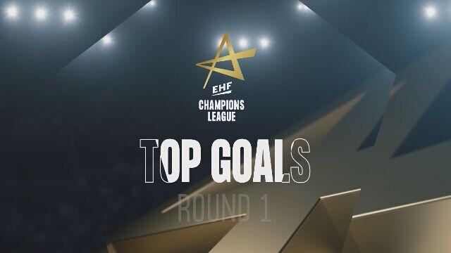 TOP 5 najlepszych goli z 1. kolejki Ligi Mistrzów w piłce ręcznej