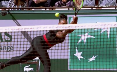 Serena Williams - trzykrotna triumfatorka French Open