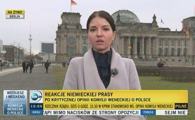"""""""Nacjonaliści rozbijają państwo konstytucyjne"""". Niemiecka prasa ostro o Polsce"""