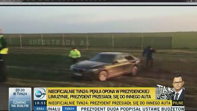 """Prezydent Duda dla """"Faktów"""" TVN: wpadliśmy w poślizg"""