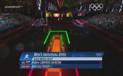 Ruben Limardo ze złotym medalem igrzysk w Londynie