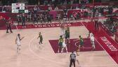 Tokio. Koszykówka. USA 42:45 Australia w połowie meczu