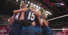 Tokio. Amerykanki pewnie wygrały z Serbkami 0:3  w półfinale siatkówki kobiet