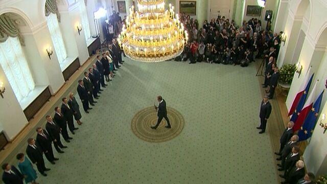 Prezydent przyjął dymisję rządu Donalda Tuska