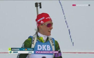 Herrmann mistrzynią świata w biegu pościgowym