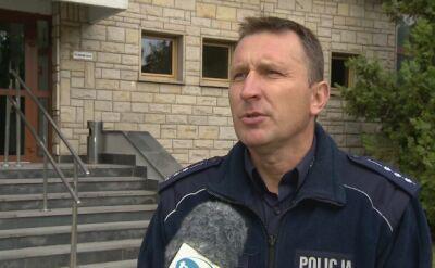 Norbert Cibor z policji w Radomiu o wypadku