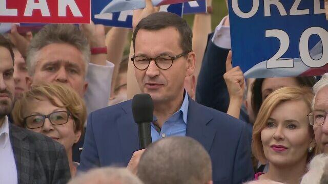 Morawiecki w Busku: żeby pensje Polaków rosły