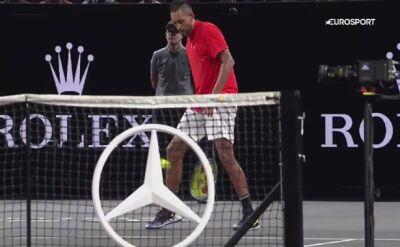 Sztuczki Kyrgiosa nie zadziałały na Federera