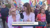 Pierwszy Marsz Równości idzie ulicami Kalisza