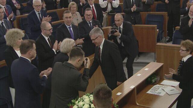 Stanisław Karczewski marszałkiem Senatu