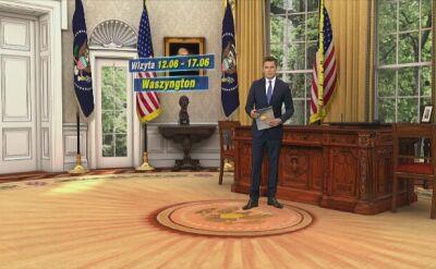 Plan wizyty polskiej pary prezydenckiej w USA