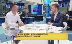 Marek Saganowski o powrocie Roberta Kubicy do F1