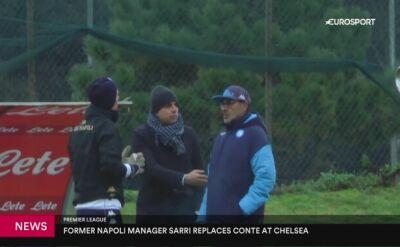 Sarri zastąpi Contego w Chelsea