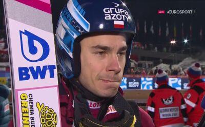 Jakub Wolny po kwalifikacjach w Zakopanem