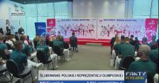 Hymn podczas ślubowania polskiej reprezentacji olimpijskiej