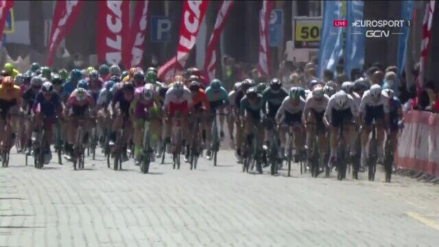 Jasper Philipsen wygrał 6. etap Tour of Turkey. Stanisław Aniołkowski w czołówce