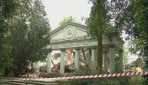 Rozbiórka mauzoleum radzieckiego w Trzciance