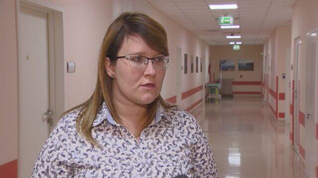 Rzecznik szpitala o stanie 3,5-miesięcznej dziewczynki