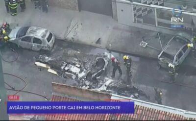 Katastrofa małego samolotu w Belo Horizonte
