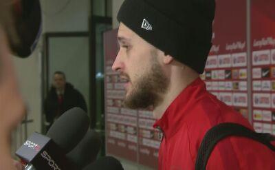 Klich: Oglądaliście mecz. Biliśmy głową w mur