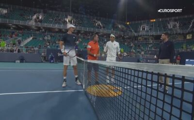 Roger Federer ograł Kevina Andersona w ćwierćfinale