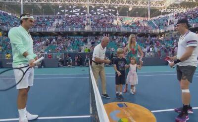 Federer pokazał Shapovalovowi miejsce w szeregu