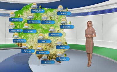 Prognoza pogody na wtorek