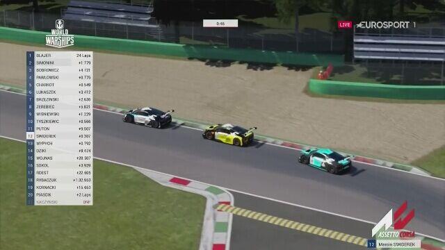 Dominik Blajer bilsko triumfu w Audi Eurosport eRacing