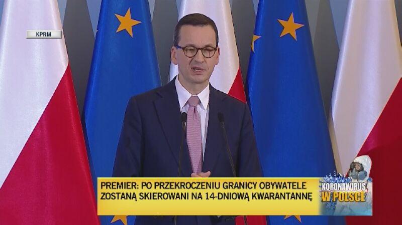 Premier: Zamykamy na 14 dni wszystkie puby, bary, kluby. Ograniczamy działalność galerii