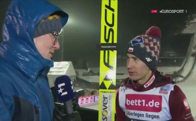 Kamil Stoch po zwycięstwie w Lillehammer
