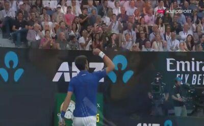 Djoković wygrał 1. seta finału Australian Open