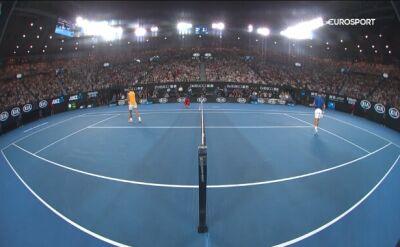 Djoković grał jak natchniony, Nadal był bezradny