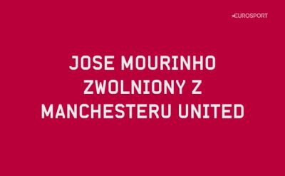 Miarka się przebrała! Mourinho wyrzucony z United