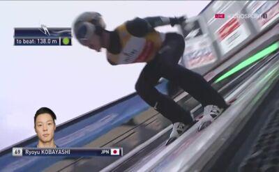 Ryoyu Kobayashi najdalej, ale nie wygrał