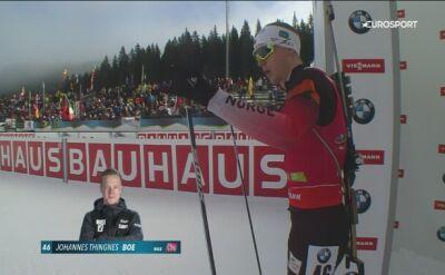 Martin Fourcade wygrał bieg indywidualny w Pokljuce