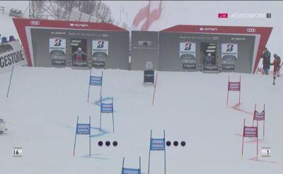 Maryna Gąsienica-Daniel odpadła w 1/16 finału slalomu równoległego