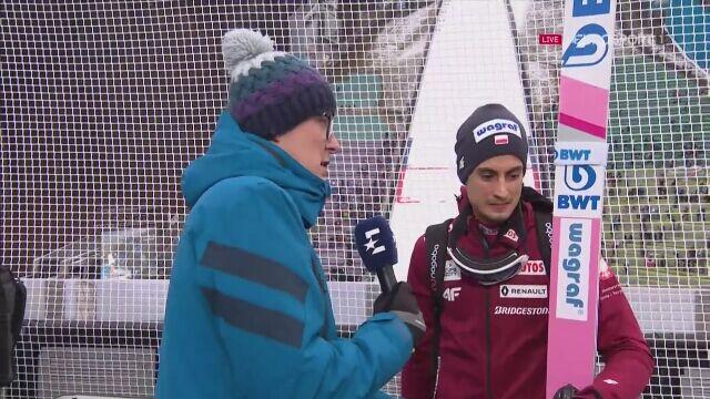 Maciej Kot po kwalifikacjach w Innsbrucku