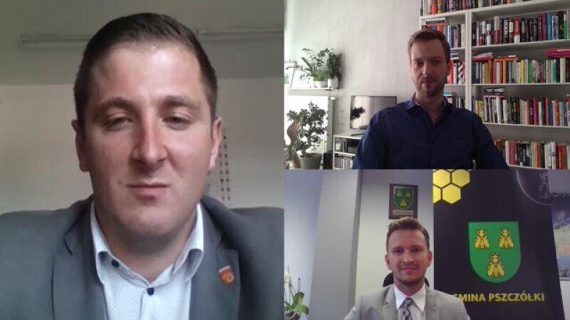 Wójt Marcin Urbanek: spory ideologiczne w gminach nie są bardzo istotne