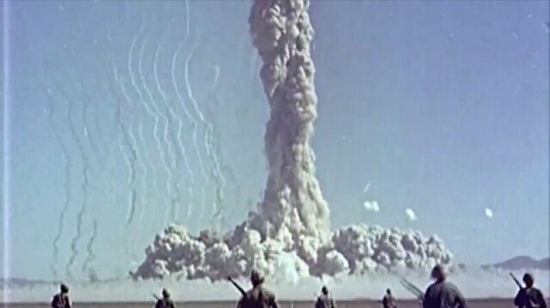 Żołnierze służyli za króliki doświadczalne podczas prób jądrowych