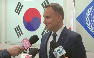 Prezydent: trzymam kciuki za polskich sportowców