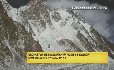 Wielicki: Adam Bielecki wraca do zdrowia