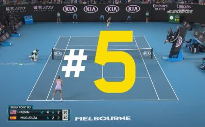 Najlepsze zagrania finału kobiet w Australian Open