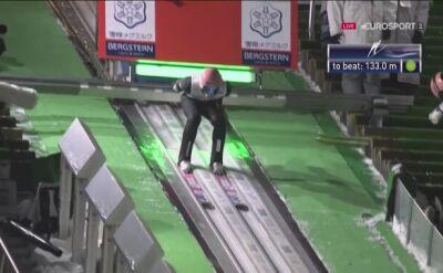 Skok Dawida Kubackiego z 2. serii konkursu w Sapporo