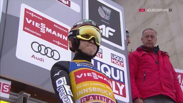 Zwycięski skok Ryoyu Kobayashiego w Innsbrucku