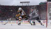 Mecz ligi NHL na otwartym stadionie