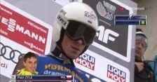 Nieudany skok Piotra Żyły z Innsbrucku
