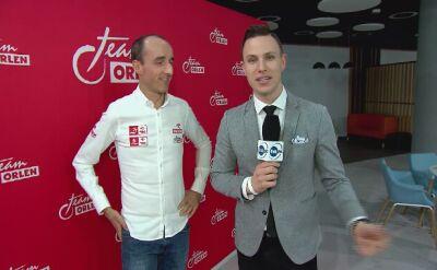Robert Kubica: po prezentacji biało-czerwonego auta jestem dumny