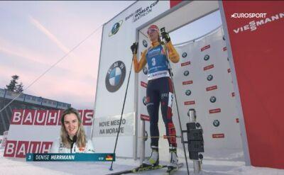 Denise Herrmann wygrała sprint w Novym Mescie