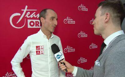 Robert Kubica o testach Formuły 1 w Hiszpanii