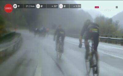 Primoz Roglic miał problemy na 6. etapie Vuelta a Espana